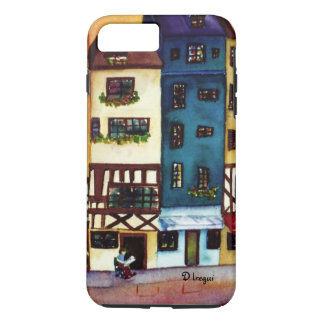 "Original Abstract Painting ""Cityscape"" iPhone 7 Plus Case"