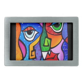 Original-Abstract-Pop-Art-Satisfactio Belt Buckle