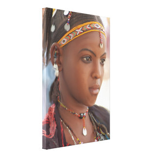 Original African Woman Canvas Print