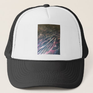 original alien landscape techno artist view trucker hat