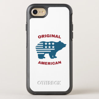 Original American | United States Typography Bear OtterBox Symmetry iPhone 7 Case