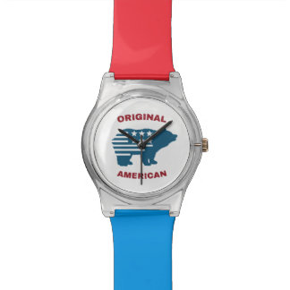 Original American | United States Typography Bear Watch