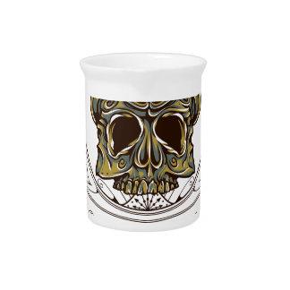 original apparel scary skull drink pitchers