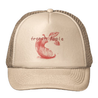 Original apple French bulldog cap