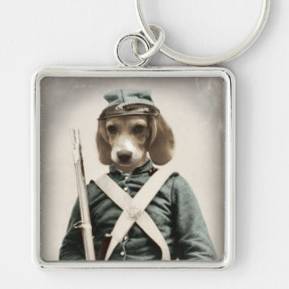 Original Art Beagle Keychain