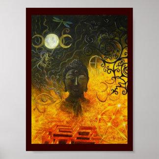 Original Art by Atena - M.I. Painting 1 poster