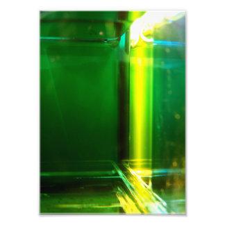 "Original art: ""light geometry: chlorophyll"" photo print"