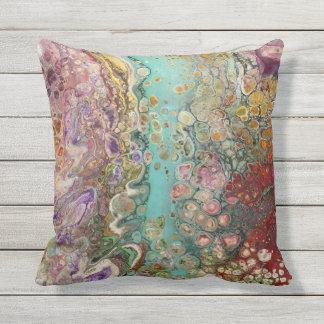 Original Art on a Pillow! Outdoor Cushion