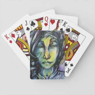 """Original Art Playing Cards - """"I Don't Know Yet."""""""