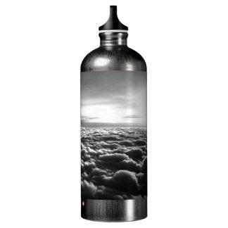 """Original art: """"the flock is calm"""" SIGG traveller 1.0L water bottle"""