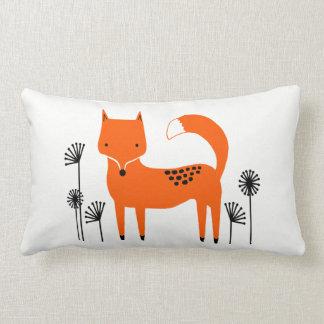 Original art work fox lumbar cushion