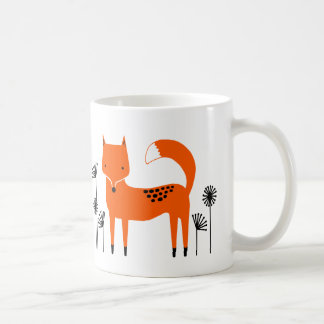 """Original art work"" Fred the Fox Coffee Mug"