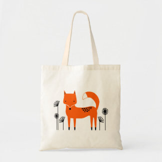 """Original art work"" Fred the Fox Tote Bag"