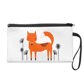 """Original art work"" Fred the Fox Wristlet"