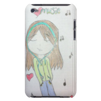 Original Artwork iPod Touch Case - Music Girl