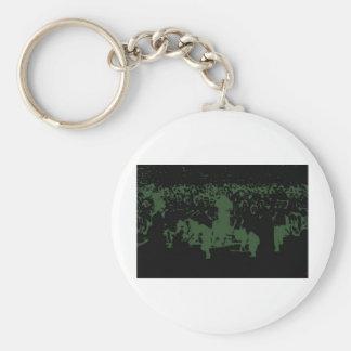 Original Artwork Zombies Keychains