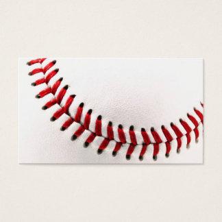 Original baseball ball business card