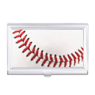 Original baseball ball business card holder