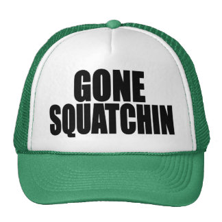 Original & Best-Selling Bobo's GONE SQUATCHIN Hat