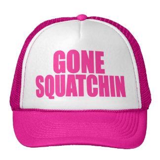 Original & Best-Selling Bobo's GONE SQUATCHIN Pink Mesh Hats