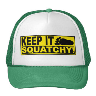 Original & Best-Selling Bobo's KEEP IT SQUATCHY! Mesh Hat