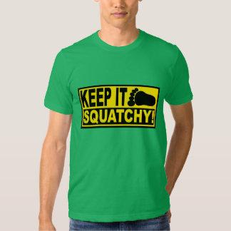 Original & Best-Selling Bobo's KEEP IT SQUATCHY! Tshirts