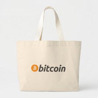 Original Bitcoin Btc Large Tote Bag