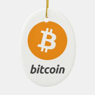 Original Bitcoin Logo Symbol Christmas Ornament #2
