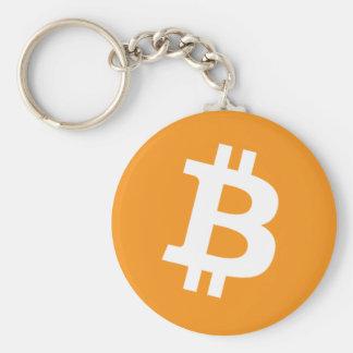 Original Bitcoin Logo Symbol Keychain