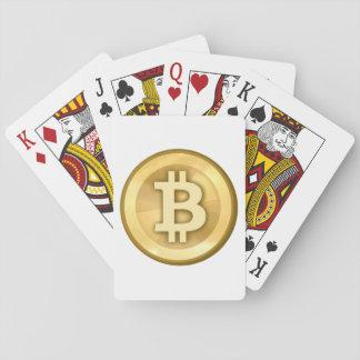 Original Bitcoin Logo Symbol Playing Cards Basic