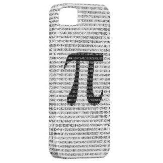 Original black number pi day mathematical symbol case for the iPhone 5