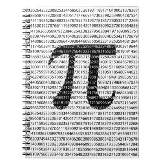 Original black number pi day mathematical symbol spiral notebook