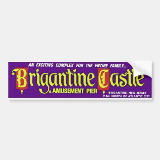 Original Brigantine Castle Bumper Sticker