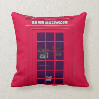 Original british phone box cushion