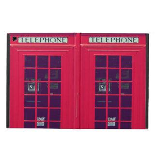 Original british phone box iPad air cases