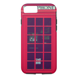 Original british phone box iPhone 7 case