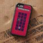 Original british red phone box