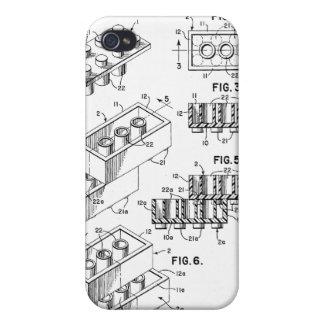 Original Building Brick Patent iPhone Case iPhone 4 Cover