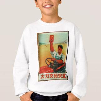 Original Chinese manifesto of propaganda poster Sweatshirt
