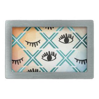 Original Colorful Eyes Design Belt Buckle
