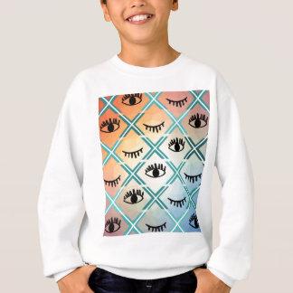Original Colorful Eyes Design Sweatshirt