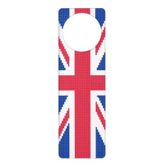 Original cross-stitch design Union Jack Door Hanger