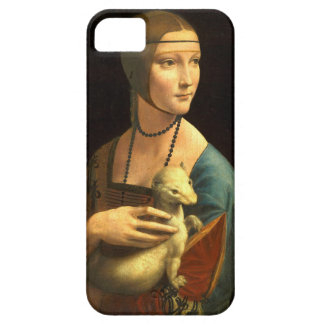 Original Da vinci's paint Lady with an Ermine iPhone 5 Case