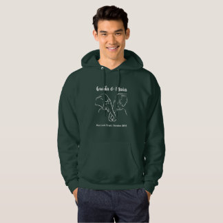 Original dark sweatshirt with Maia & Guida
