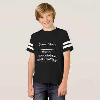 ORIGINAL Darren Vlogs T-shirt Large Boys