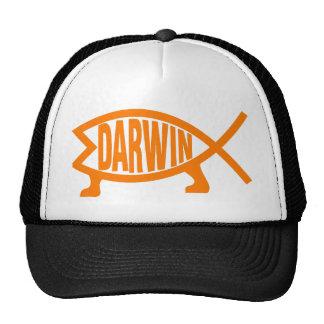Original Darwin Fish (Light Orange) Cap