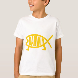 Original Darwin Fish (Mustard) T-Shirt