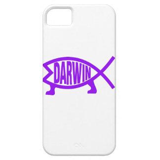 Original Darwin Fish (Purple) iPhone 5 Cover