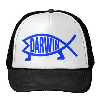 Original Darwin Fish (Royal Blue) Cap