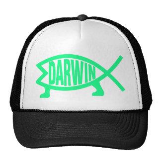 Original Darwin Fish (Seafoam) Cap